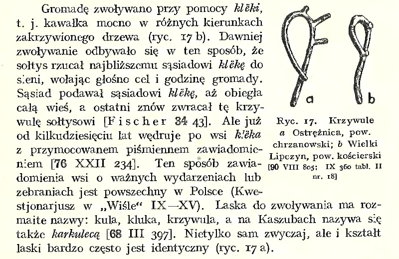 [w:] A. Fischer, Kaszubi, kultura ludowa i język, Toruń 1934, s. 205