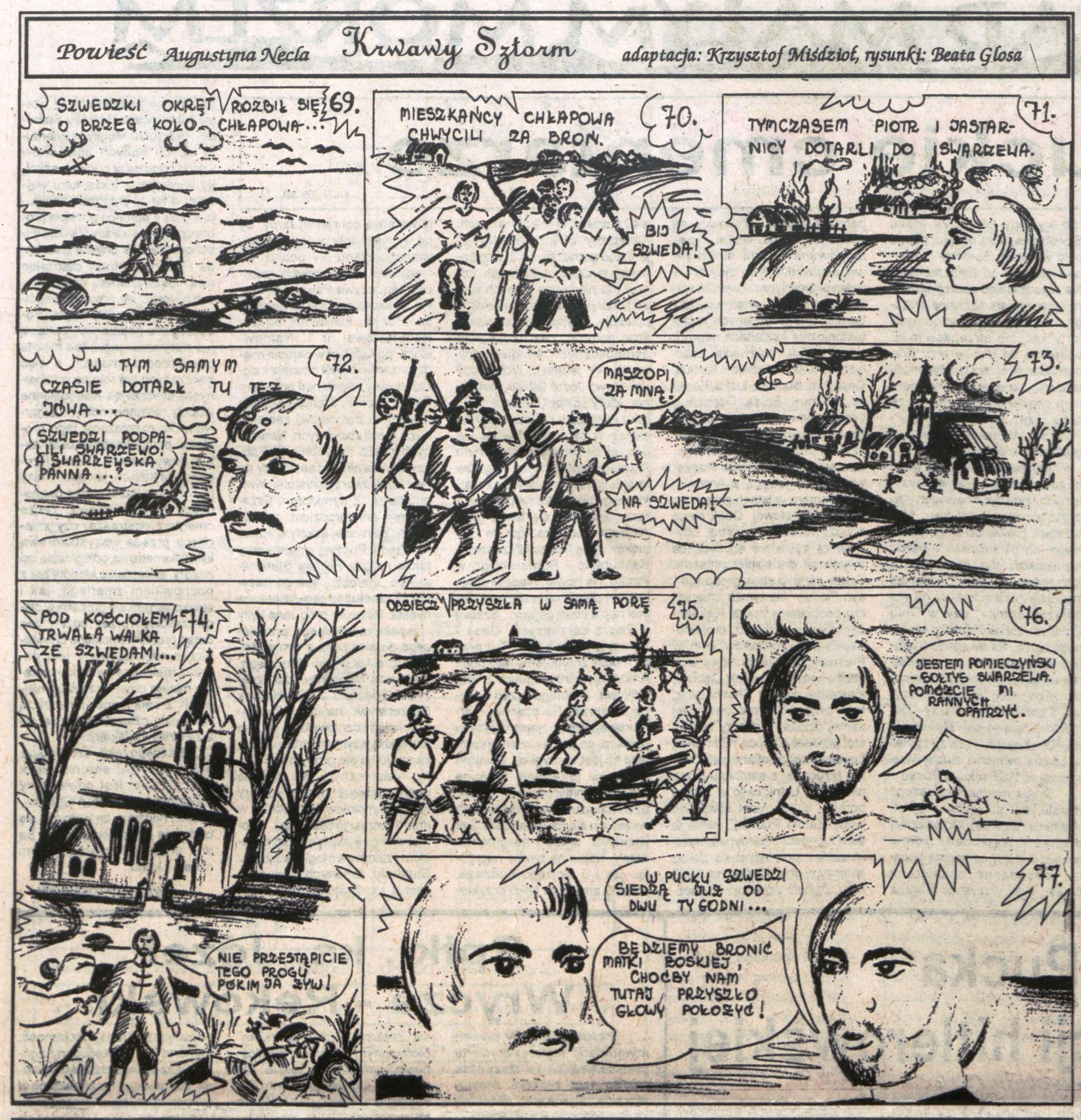 Augustyn Necel komiks
